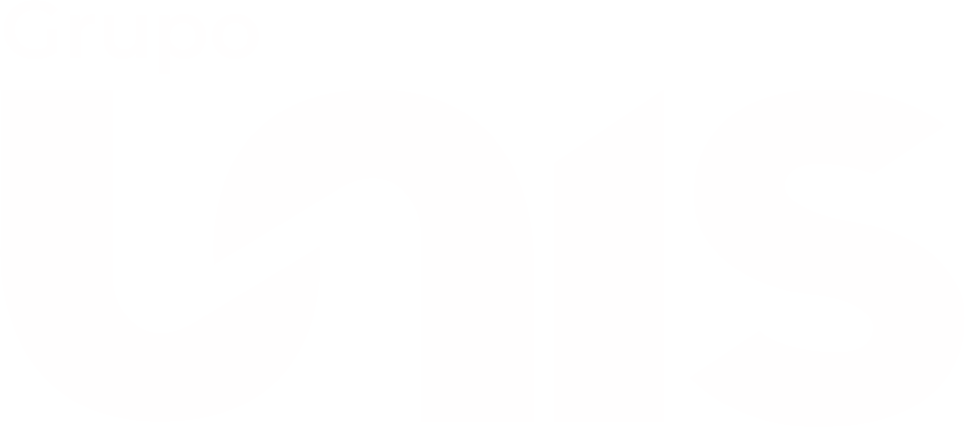 Logomarca Grupo Unis Branca