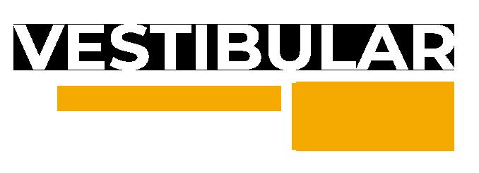 Logotipo da campanha do Vestibular na Faculdades Integradas Cataguases